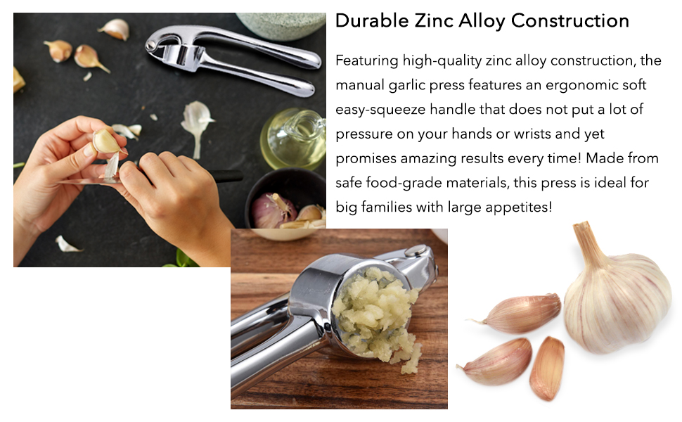 Ginger crushing tool is easy to use