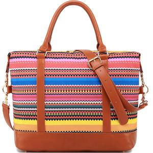 women ladies carry on weekender bag
