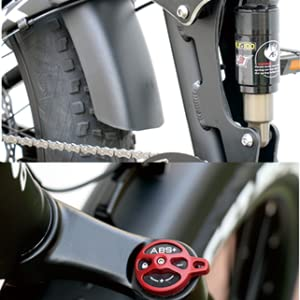 front and center shock absorber