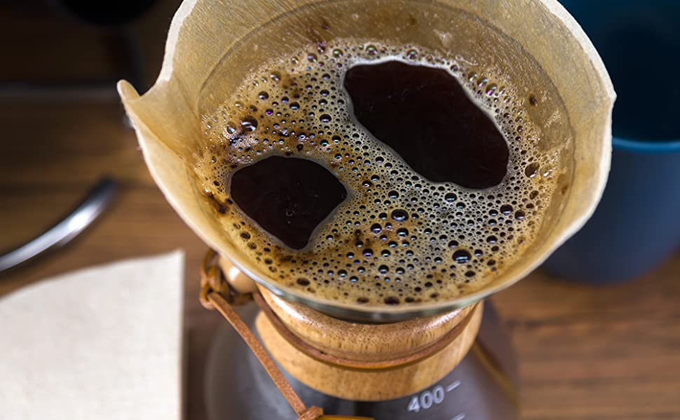 LVKH GLASS COFFEE MAKER WITH PAPER FILTERS