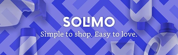 Solimo; Simple to shop. Easy to love.