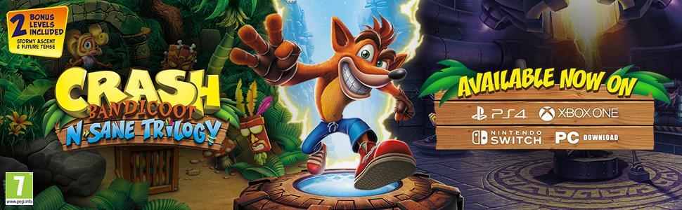 Crash Bandicoot, Crash, Crash Xbox one, Crash Switch, Crash PS4, Crash Xbox, Crash Nintendo Switch