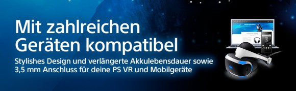 PlayStation 4 Platinum Wireless Headset [Playstation 4]