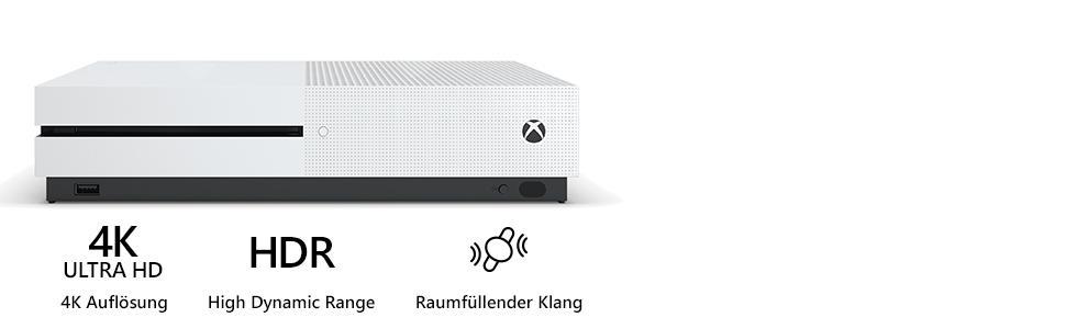 Microsoft Xbox One S 500 GB Forza Horizon 3 Bundle