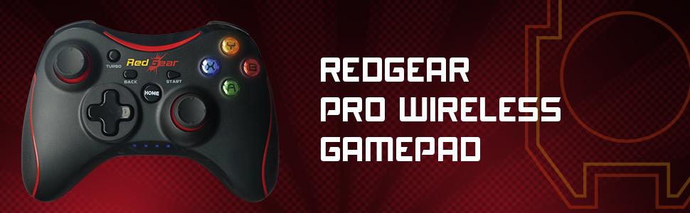 Best Wireless Gamepad for Gaming pc Redgear Pro Wireless Gamepad