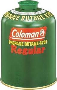 Amazon | コールマン Coleman 純正LPガス燃料 Tタイプ 470g 5103A470T | コールマン(Coleman) |  ガスカートリッジ・ボンベ
