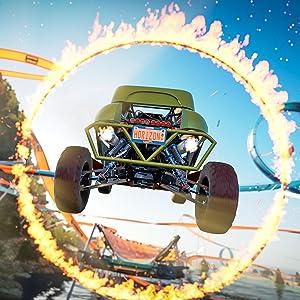 Actiongeladene Open World-Rennen mit hohem Detailgrad - Microsoft Xbox One S 500 GB Forza Horizon 3 Bundle