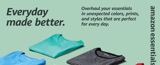Amazon Essentials women's basics tees tanks camis pants shorts chinos bermudas tops