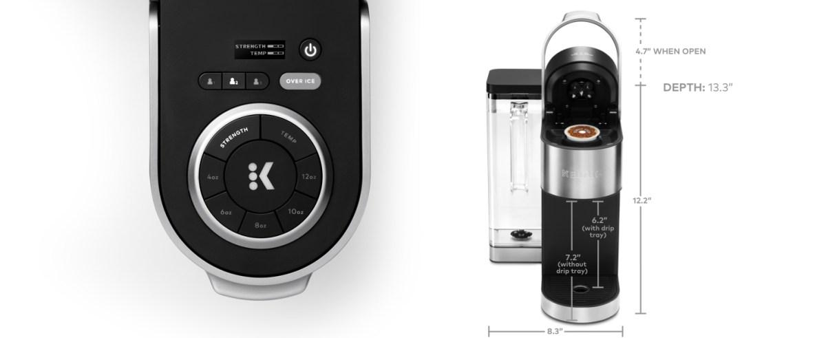 k supreme plus keurig single serve coffee maker