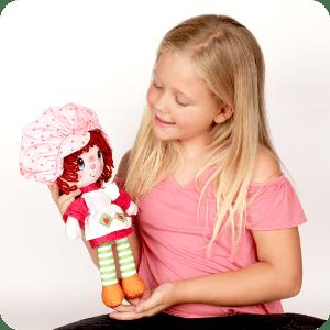 Imagem do estilo de vida da boneca de pano clássica