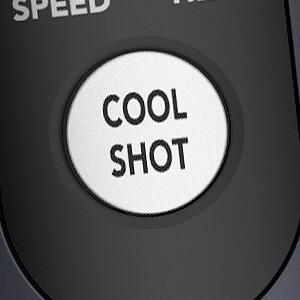 Carrera Warmluftbürste No535 mit Cool Shot