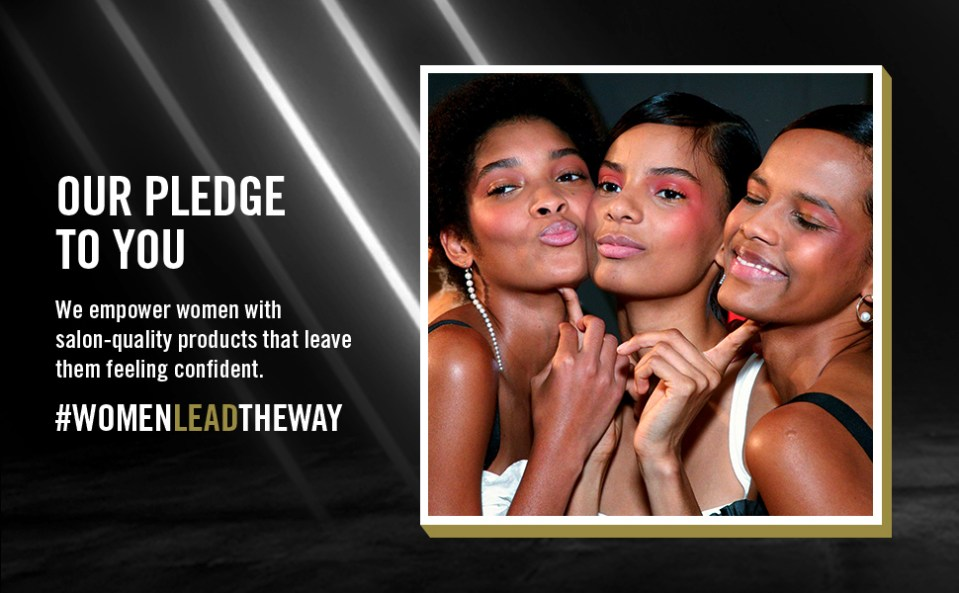 TRESemmé provides salon-quality products.