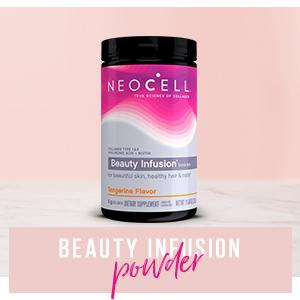 neocell;beauty;infusion;powder;drink;beautiful;skin;healthy;hair;nails;melatonin;multivitamin;care