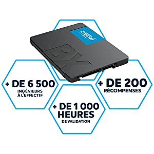 Crucial BX500 SSD quality