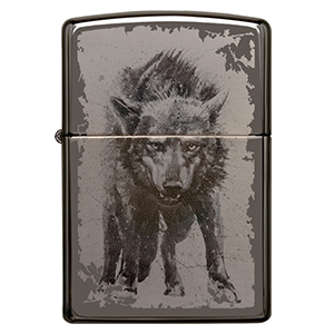 wolf, wolf lighter, wolves, black ice, wolf,