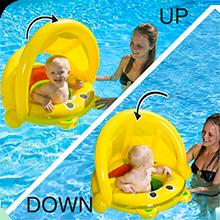 flutuador do dossel do bebê, nadar floatie bebê, nadar dossel do bebê, dossel da piscina do bebê, piscina infantil flutuar