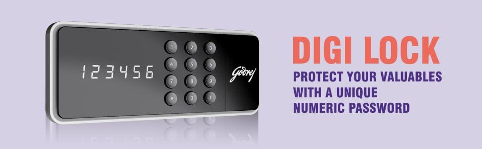 Forte Pro Digital 8L - Digi Lock