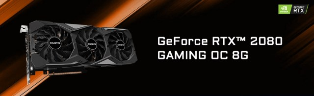 RTX 2080 Gaming OC 8GB Header Banner