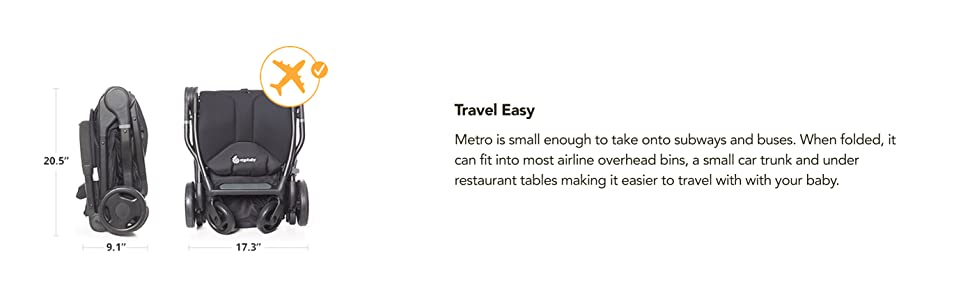 Ergobaby Metro Stroller Travel