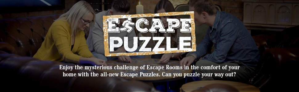 escape room game, escape game, escape the room, puzzles for adults, jigsaw puzzles, challenge puzzle