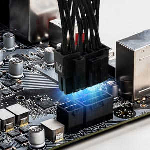 msi, 8+4 pin, power supply, cpu power cable, connector, z490-a pro