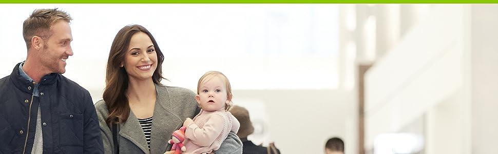 Os carrinhos de bebê Jogger projetam os pais e as crianças vão a mais lugares que todos os terrenos precisam para viver ativos