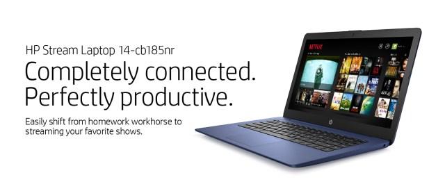 hp stream laptop 14-cb185nr blue color