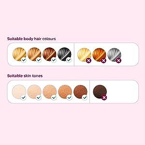 Skin and Hair Tone