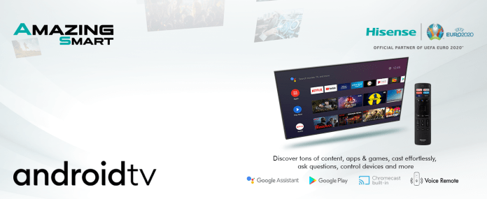 ANDROID TV 9.0-DT