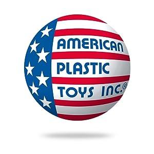 American Plastic Toys Inc. Logotipo da empresa Bandeira dos EUA