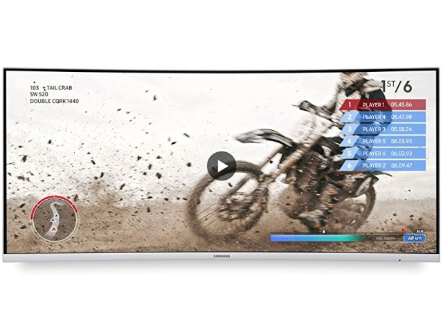 Samsung CJ79 Monitor featuring AMD FreeSync for Smoother Gameplay