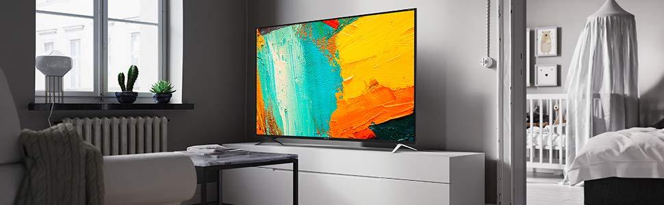 Los TV SHARP están equipados con tecnología innovadora para obtener imágenes potentes y coloridas.