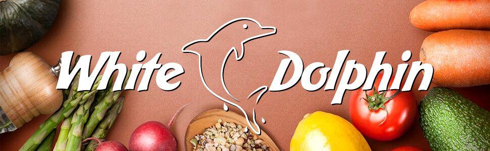 Food Vacuum Sealer White Dolphin