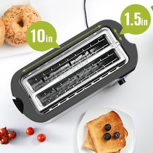 toaster long slot