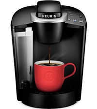 keurig k-classic coffee maker, k-classic brewer, classic coffeemaker, coffee machine, single serve