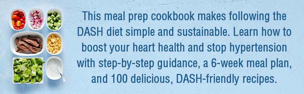 Dash diet, meal prep, dash diet cookbook, dash, the dash diet