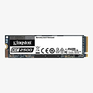 KC2500 NVMe SSD