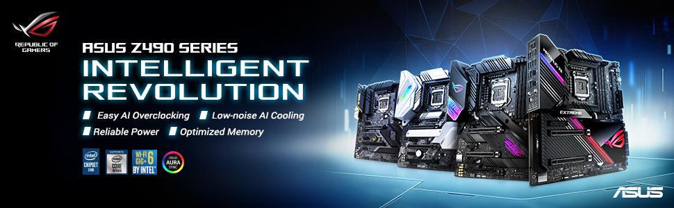 ASUS ROG Maximus XII Formula Z490 Gaming Motherboard
