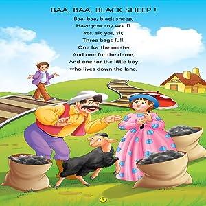 nursery rhymes, early learning, Dreamland Publications