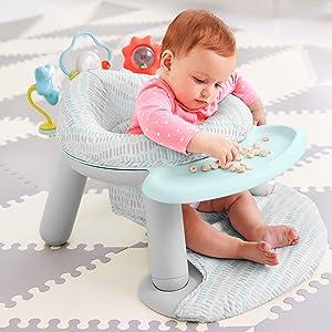 Skip Hop, sente-me no banco do chão, cadeirinhas de bebê para sentar, baby sente-se na cadeira, sente-se, bumbo