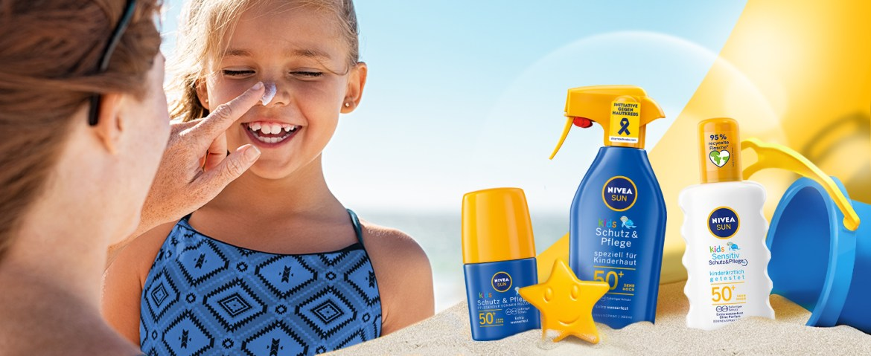 NIVEA SUN Kids Sensitiv Sonnencreme