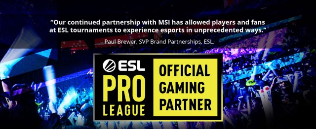 msi, meg z490i unify, itx motehrboard, esl pro league official gaming partner, esports sponsorship