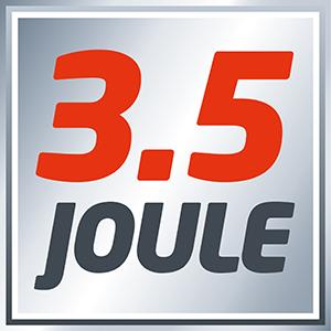 3.5 joules