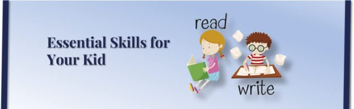 develop reading and writing skills