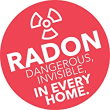 Radon: dangerous, invisible, in every home.