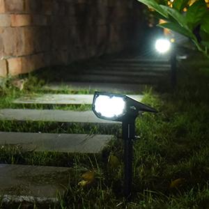 güneş enerjili güvenlik ışıkları