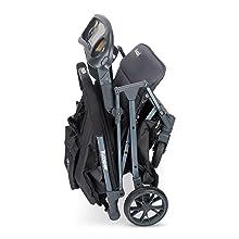 carrinho de criança dobrável compact kooper