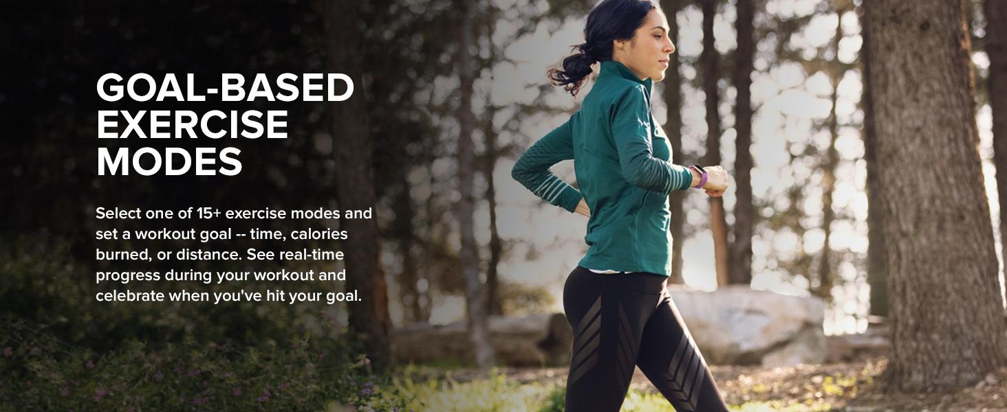 Goal Based Exercise Modes