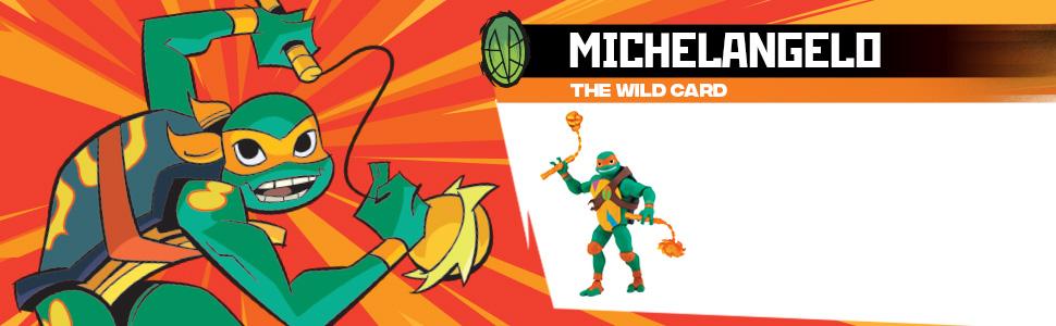 TMNT, Rise of TMNT, Rise of Teenage Mutant Ninja Turtles, Michelangelo, Mikey, Mich