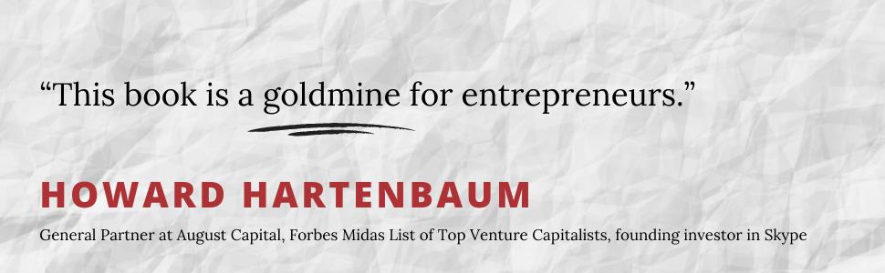 Howard Hartenbaum, Entrepreneurs, Forbes, Skype, Capitalist, Investors